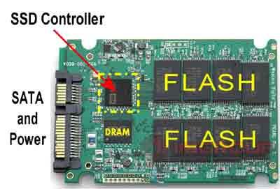 bộ nhớ flash trong SSD