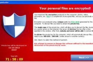 dữ liệu bị virus mã hóa tống tiền